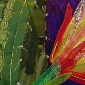 Yellow Cereus, detail