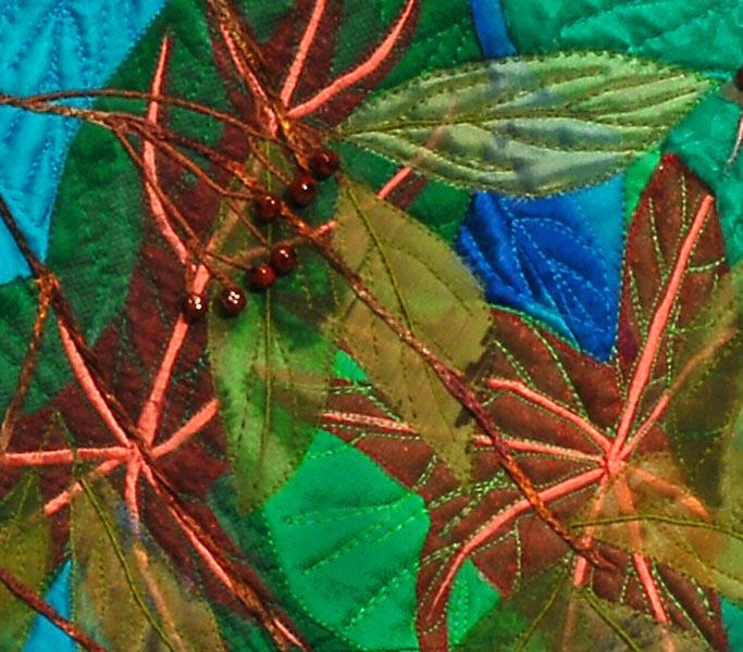 Autumn Berries II, detail