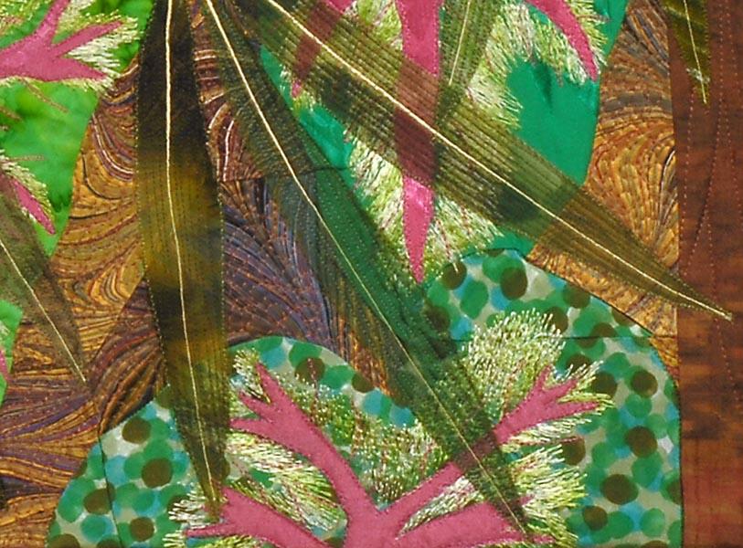 Bamboo Mystery I, detail