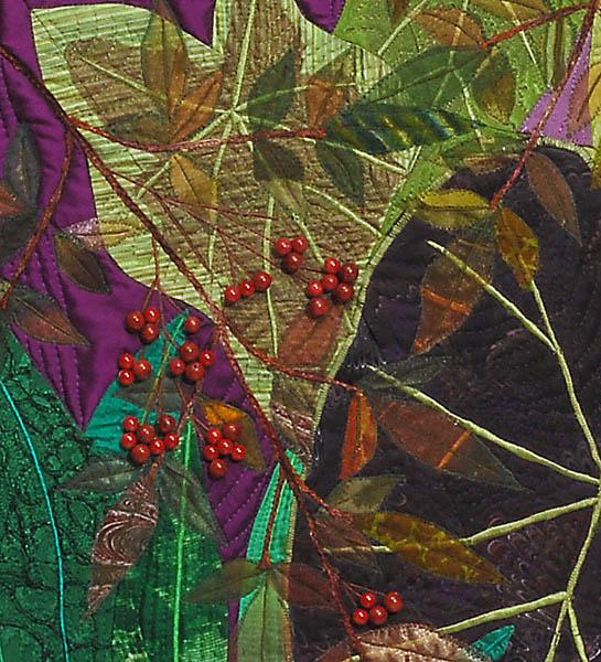 Leafy Garden, detail