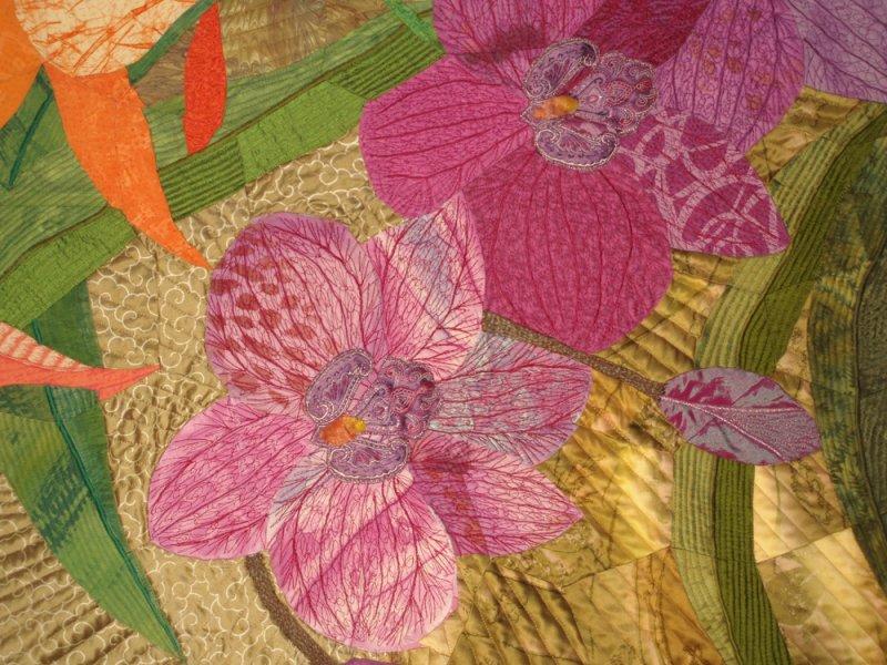 Orchid Trilogy, detail