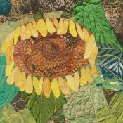 Sunflower Serenade, detail